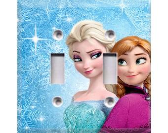Frozen Light Switch Cover Etsy