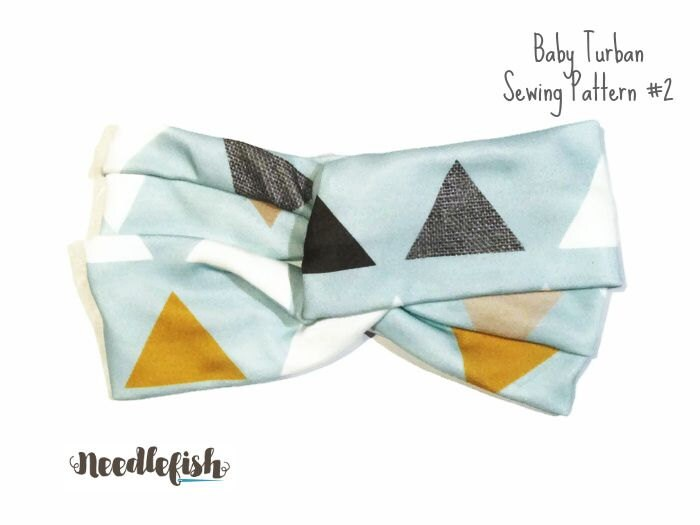 Baby Turban Pattern Beginner Sewing Pattern Easy Sewing Etsy