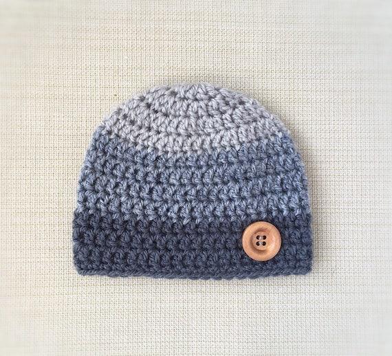 Hôpital bonnet pour nouveau-né bébé garçon chapeau nouveau-né   Etsy c0653730a3d