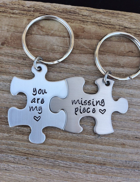 Puzzle Piece Key Chain