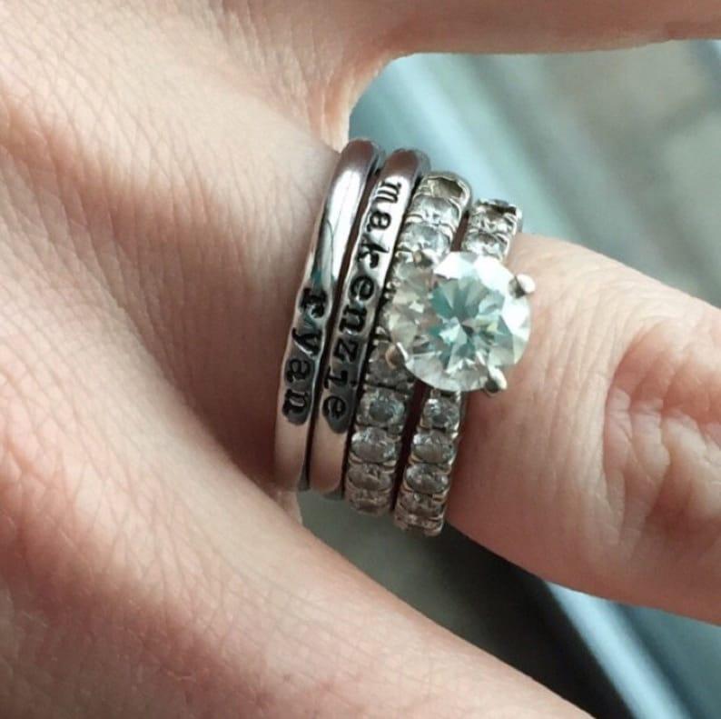 Parure  Pagodes diamant au grenat \u00e9carlate