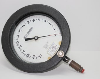 Ashcroft Test Gauge Temperature Compensated with Calibration Stickers Used