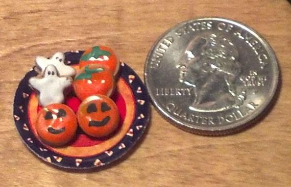 Dollhouse Miniature Halloween Crystal Ball 1:48 Quarter 1//4 inch scale F46C