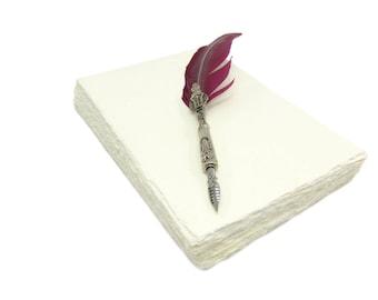 Handmade paper DIN A5 - 100 sheets - Wild Border - Price per sheet 0,399 EUR