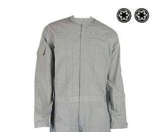 Star Wars Imperial Gray Flighsuit Costume