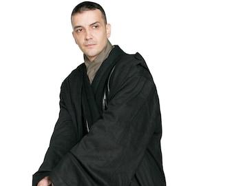 Star Wars Sith / Jedi Robe ONLY - Black - Replica Star Wars Costume