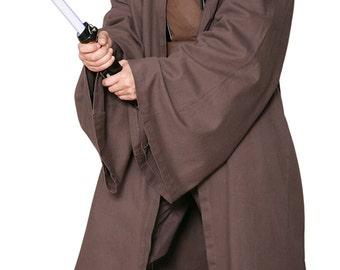 a20cafd6f5 Star Wars Jedi Knight Jedi Robe ONLY - Dark Brown - Replica Star Wars  Costume