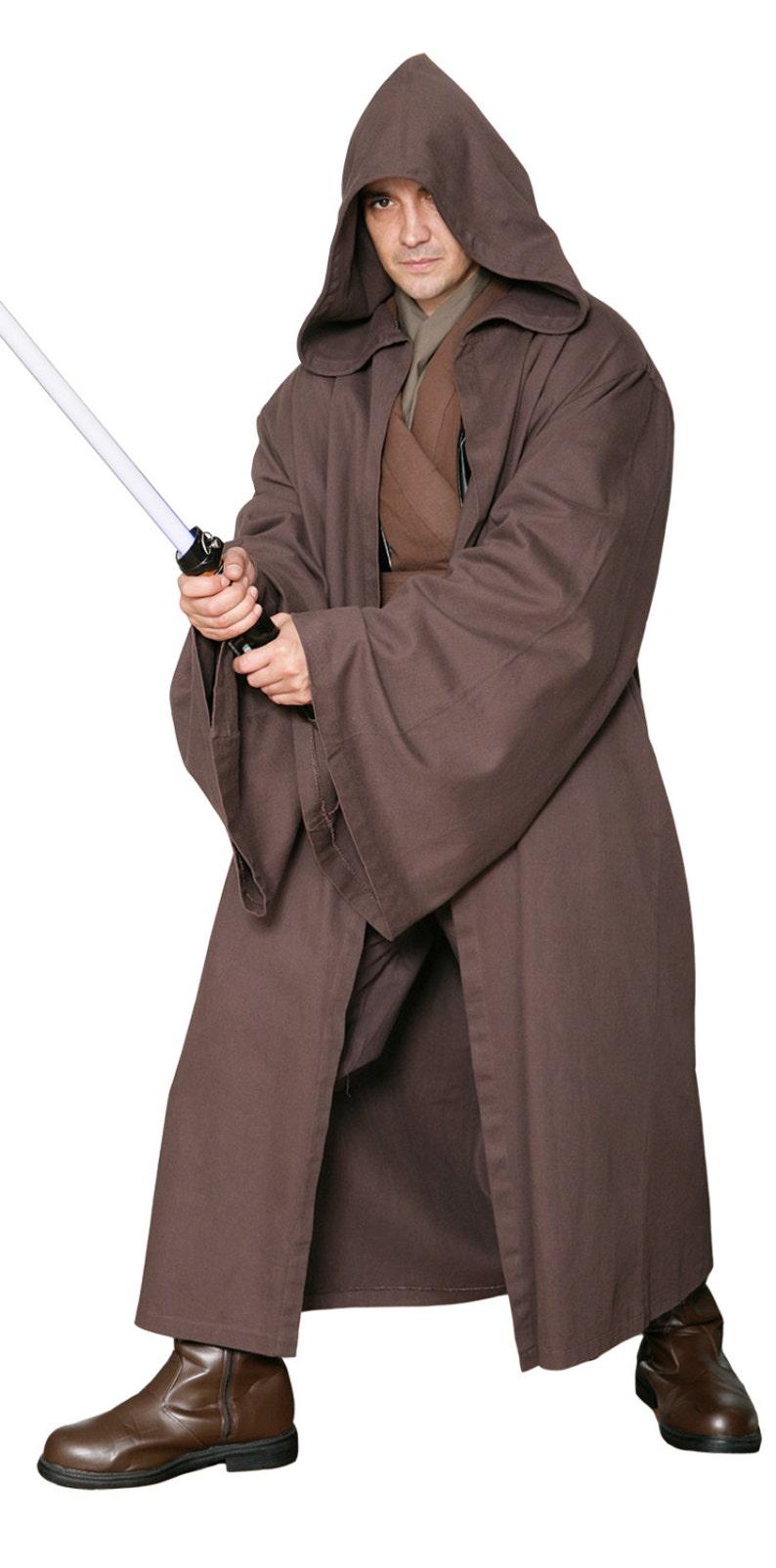 a24b80981f Star Wars Jedi Knight Jedi Robe ONLY Dark Brown Replica
