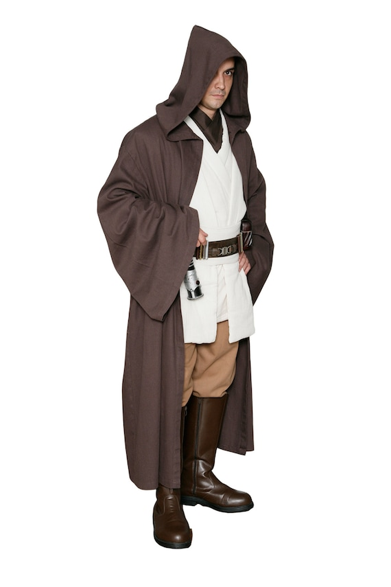Star Wars Obi Wan Kenobi Jedi réplica cuerpo traje túnica con | Etsy