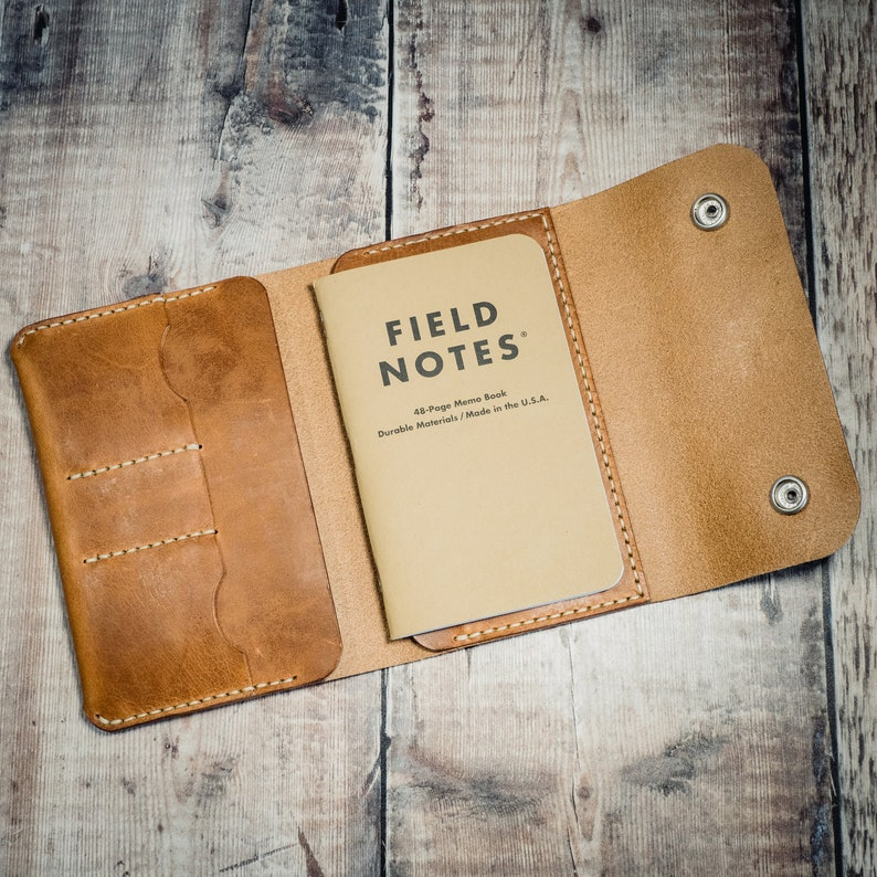 d7d74438c Leather Notebook Cover Field Notes Cover Passport Wallet
