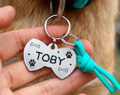 bow tie dog tag, custom two-sides id tag, pet id tag, bowtie tag, name tags, personalized pet id tags,bow tie for dog, bow tie for cat