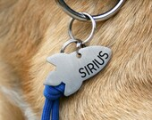 Rocket dog tag, space custom two sides tag, sirius, dog space, Dog Collar, Star Space theme, rocket pet id tag, laika, sputnik, pluton