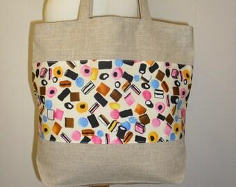 Liquorice Allsorts Sweets Treat Tote Shopper Bag For Life Christmas Shopping E73