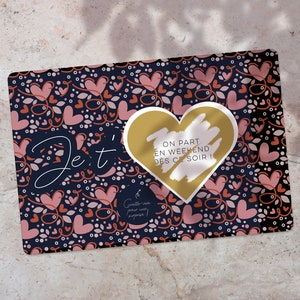 custom gift card Customizable scratch card make a special request card game of chance