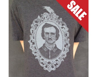 Edgar Allan Poe Illustrated T-Shirt
