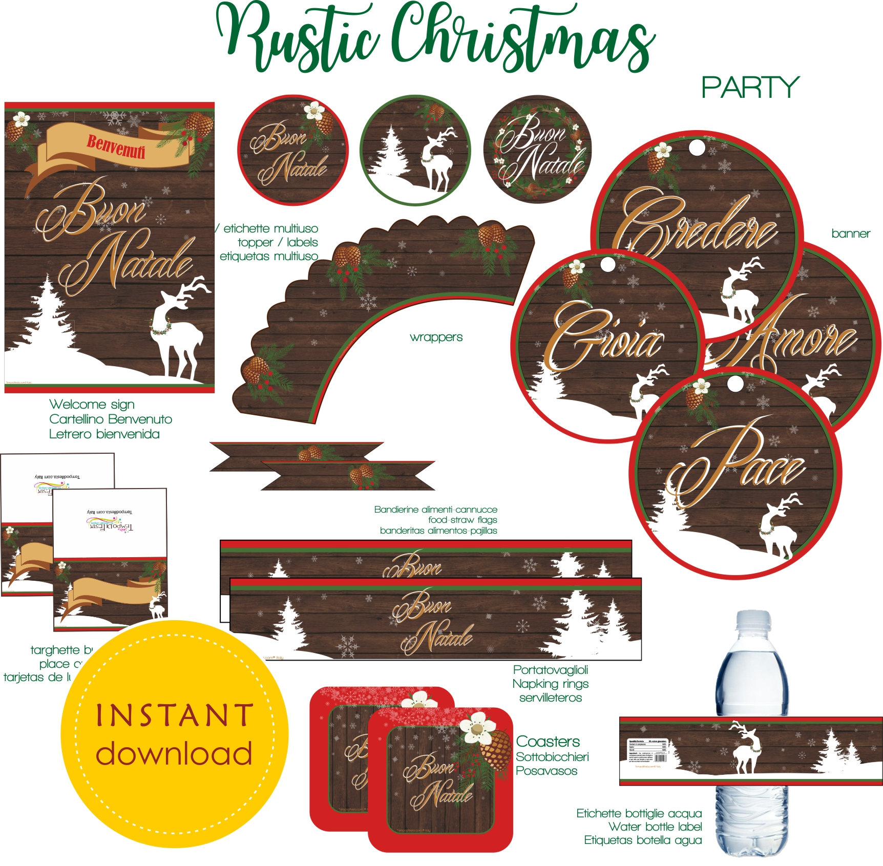 Christmas Rustic Party