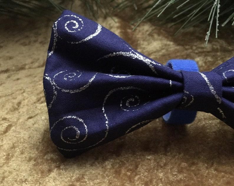 Pet Dog Bowtie Winter Dog Bowtie Holiday Dog Bowtie Christmas Dog Bow Tie