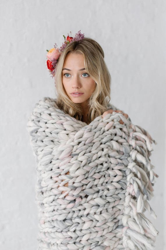 Cozy Companion Throw Pattern Knitting Pattern For Super Etsy