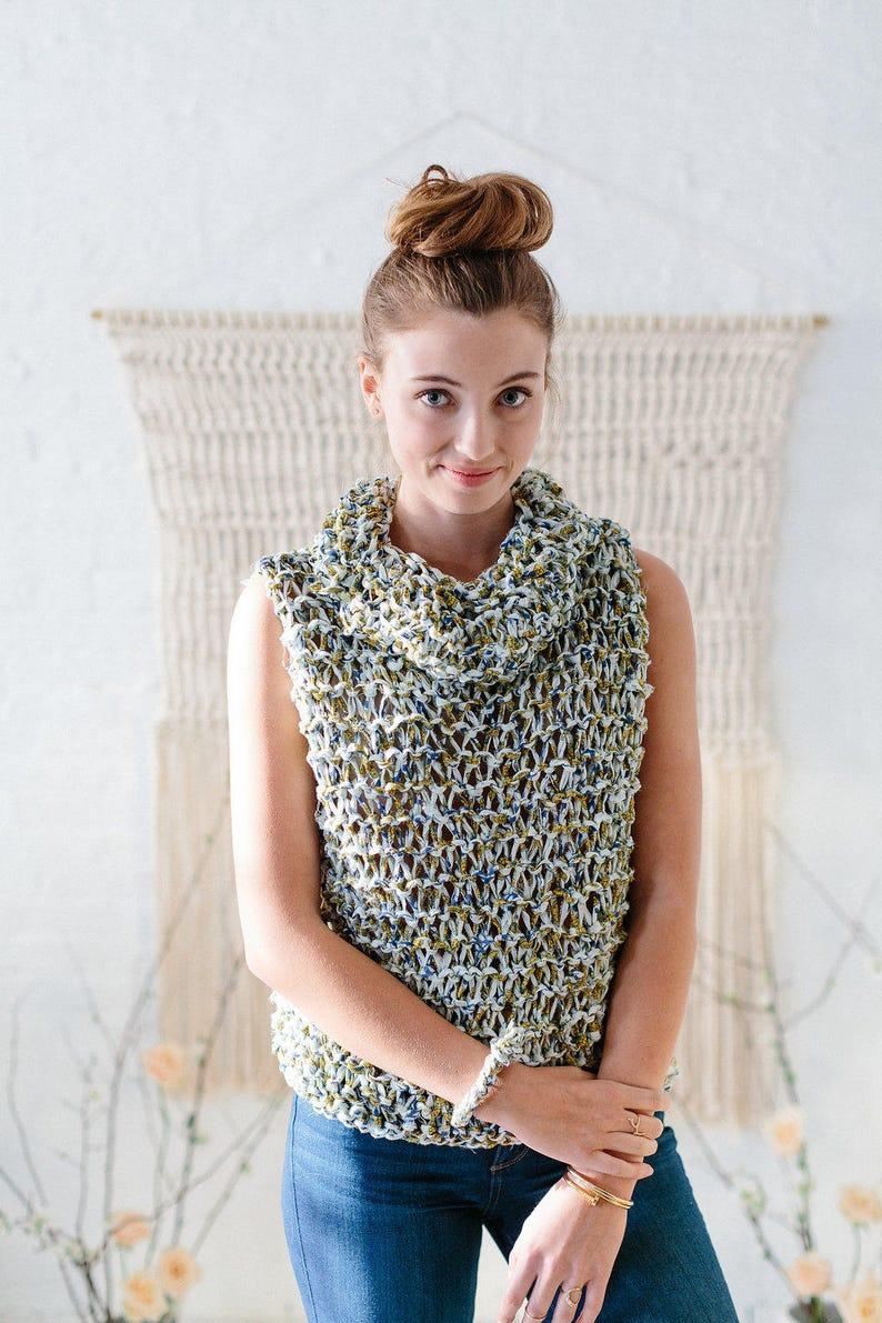 b9f2a9f0951e Knitting Pattern    Knit Top Pattern Knit Sweater Pattern