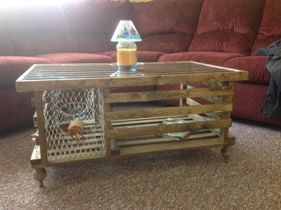 Strange Special Walnut Wooden Lobster Trap Coffee Table Made In Usa Free Shipping On All Tables Plexiglass Not Included Andrewgaddart Wooden Chair Designs For Living Room Andrewgaddartcom