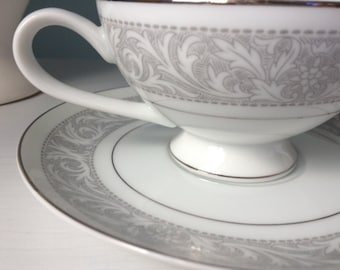 Vintage Imperial China-- Whitney 5671 Cup and Saucer set-- Designed by W. Dalton