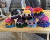 Pridetopi. Pride flag octopi babies