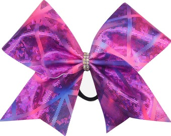 Ice Queen Cheer Bow