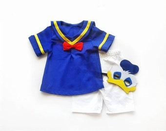 kid Donald Duck Costume - Donald Duck Toddler - Boy Donald Duck costume