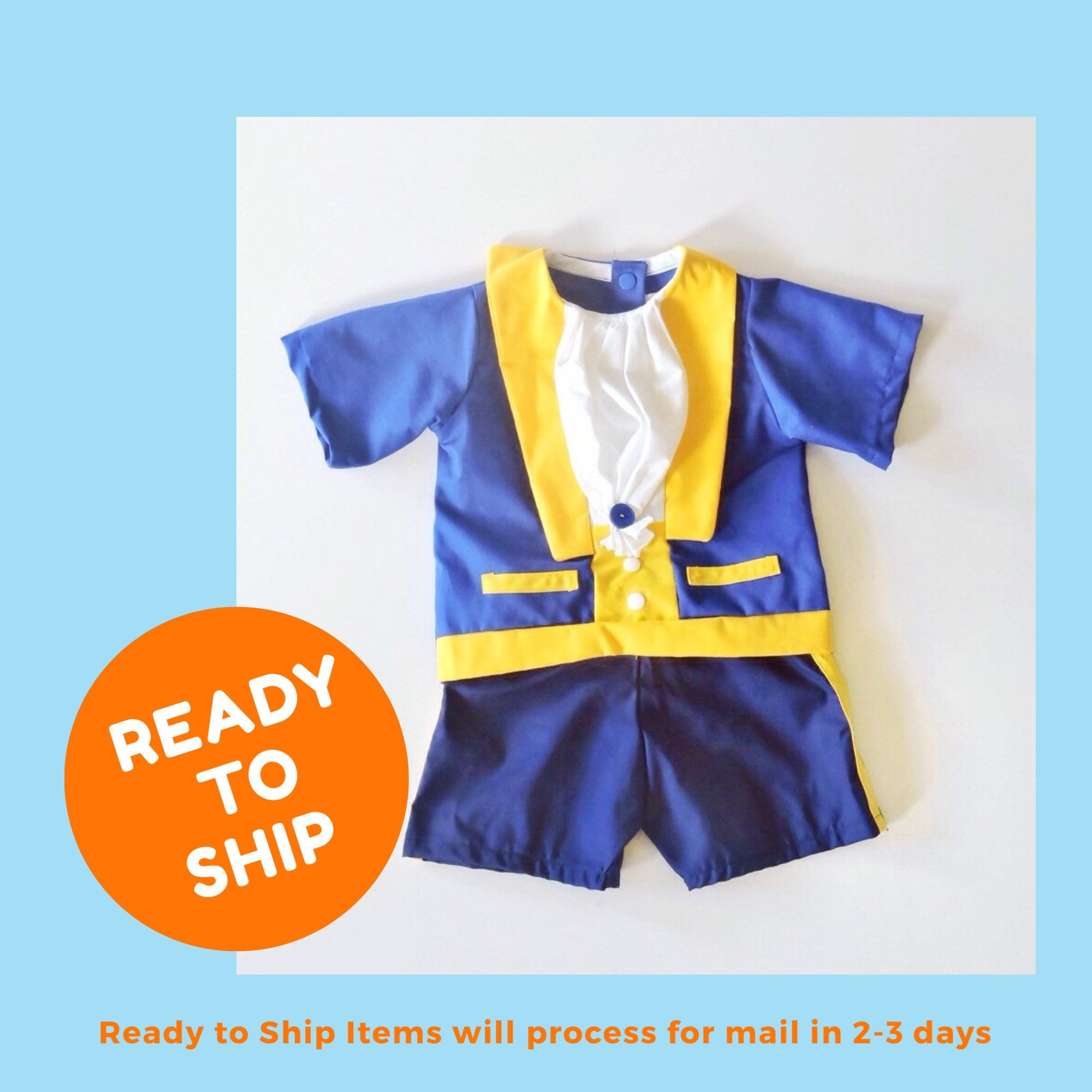 The Beast Costume Beauty And The Beast Costume Toddler Etsy