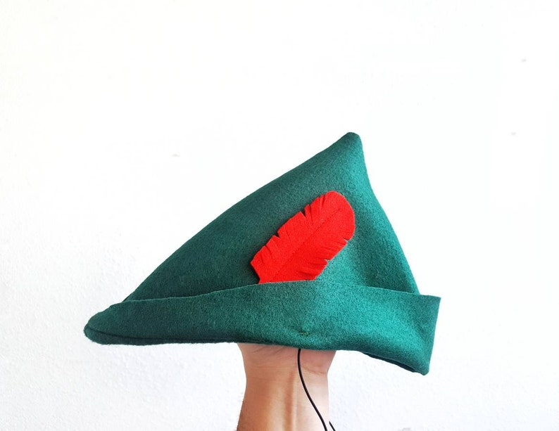 4a001a654db Peter Pan Hat Peter Pan Costume Neverland Birthday