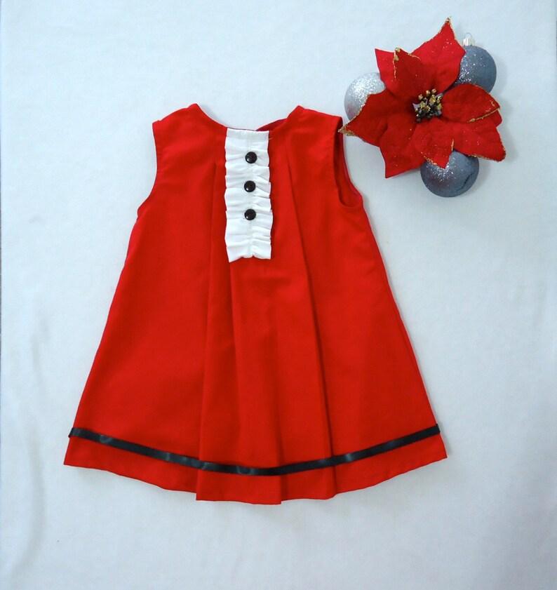 2dea0cea56e5 Christmas Baby Girl Dress Baby Girl Outfit Baby Christmas