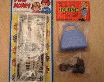 1960's dime store play money lot.