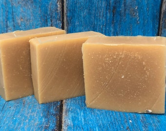 Lemongrass and Lavender Goat Milk Soap made with essential oils
