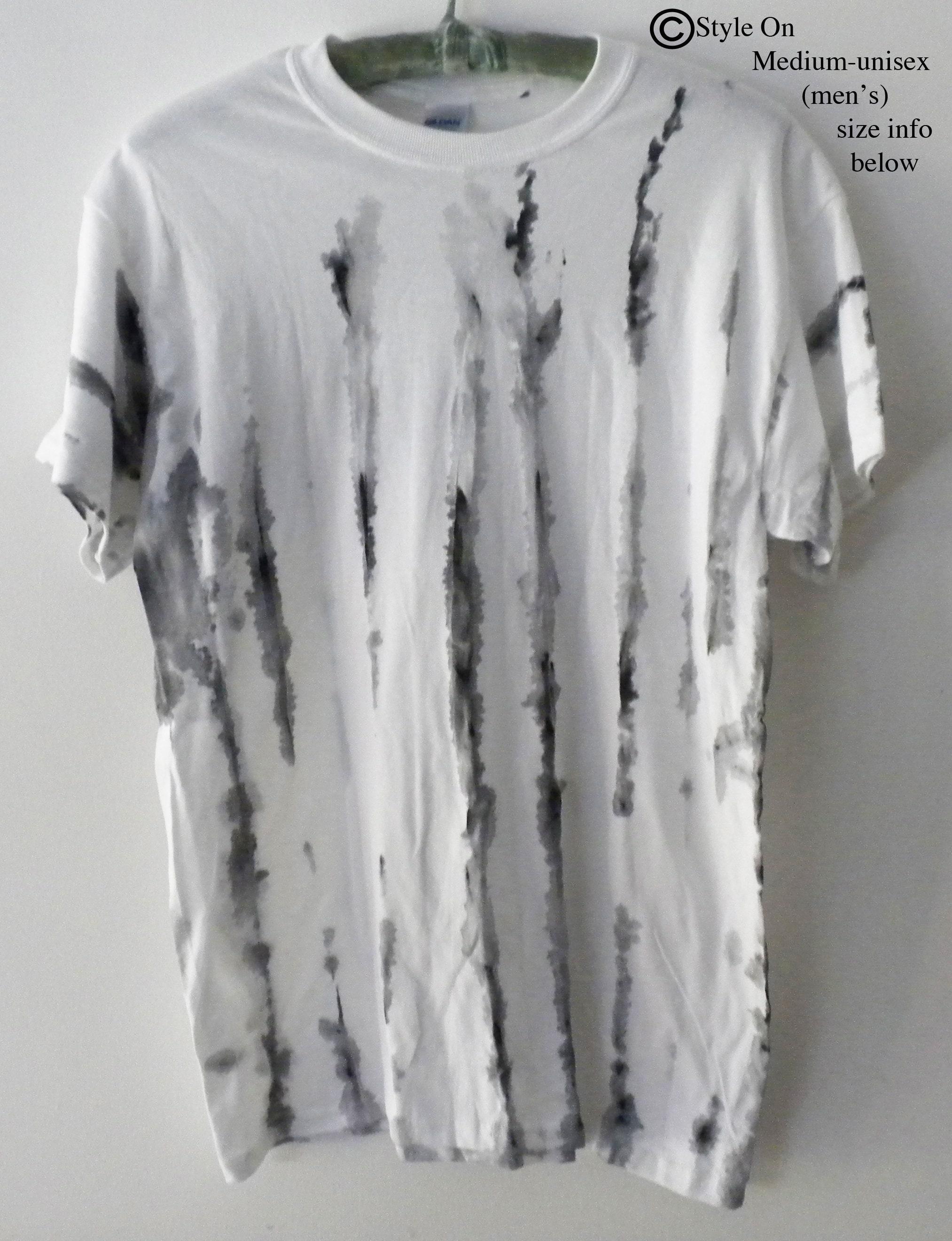 bfdd510f9 Black White Tie Dye T Shirt | Oregon Guide Book