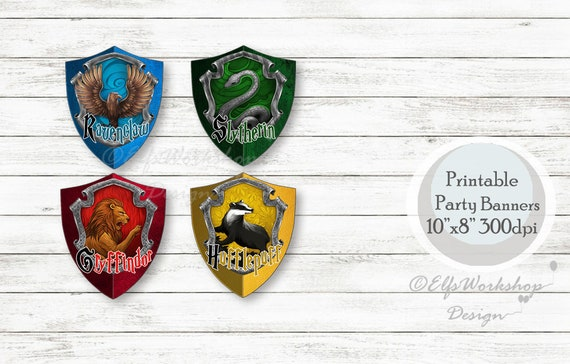 Hogwarts Banners Harry Potter Printable