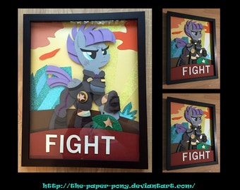 "11""x14"" War Maud Pie Poster Shadowbox"
