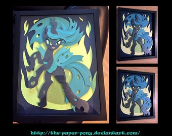 11x14 Queen Chrysalis Shadowbox