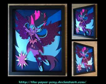 11x14 Midnight Sparkle Shadowbox