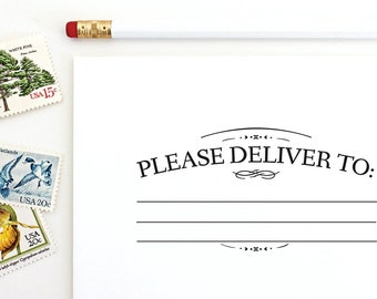 Please Deliver To Stamp 01