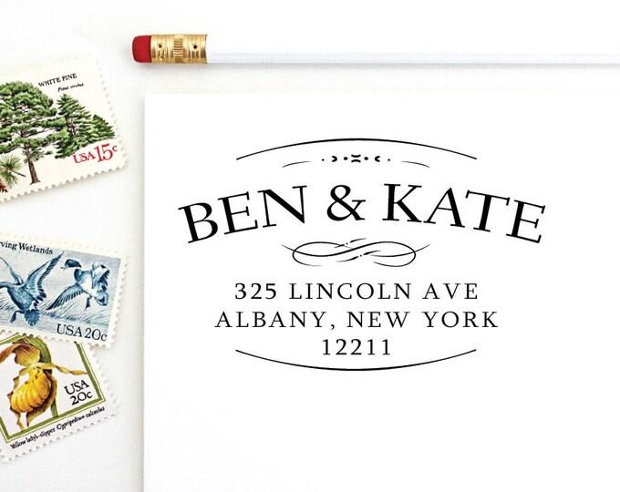 Address Stamp - Ben & Kate