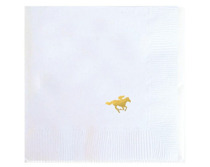 Kentucky Derby Horse Napkins - Set of 20