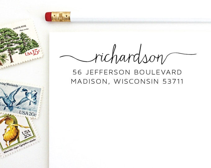 Address Stamp - Richardson
