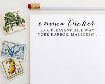 Custom Address Stamp - Self Inking Address Stamp - Wedding Gift - Housewarming Gift