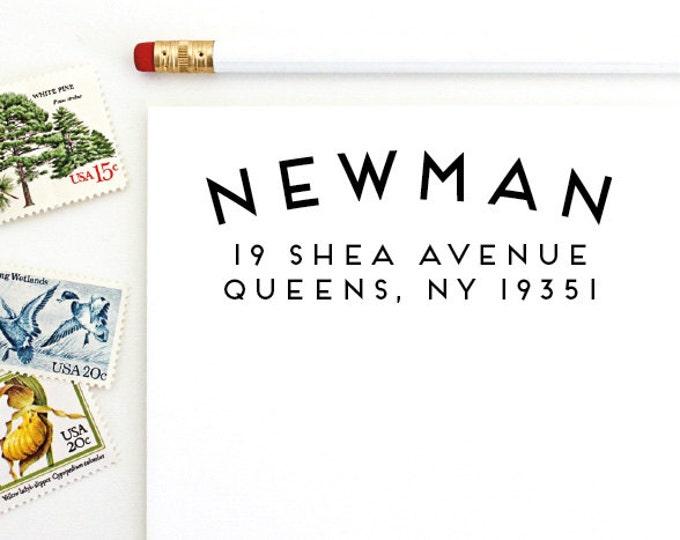 Address Stamp - Newman