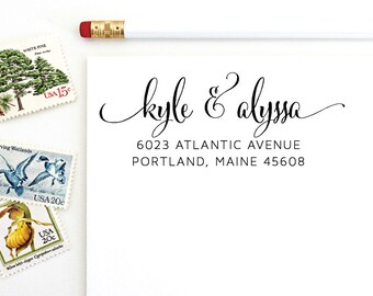 Address Stamp - Kyle & Alyssa