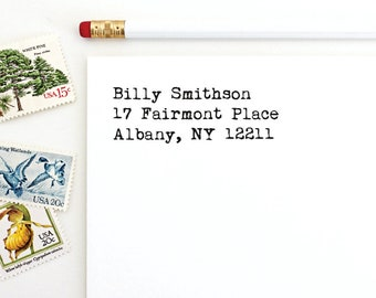Address Stamp - Billy Smithson