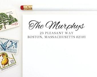 Address Stamp - The Murphys