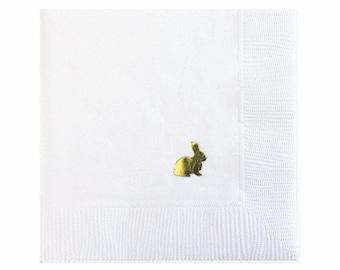 Easter Bunny Napkins - Set of 20