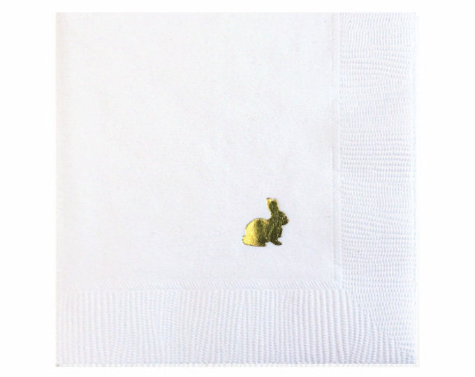 Easter Bunny Napkins - Set of 20