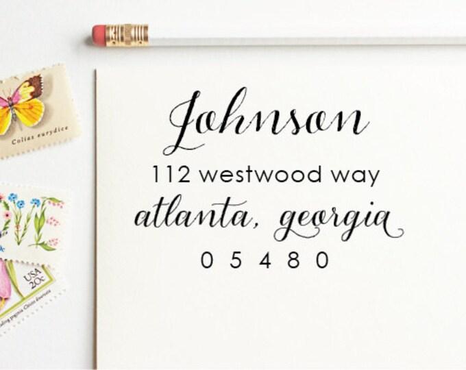 Address Stamp - Johnson